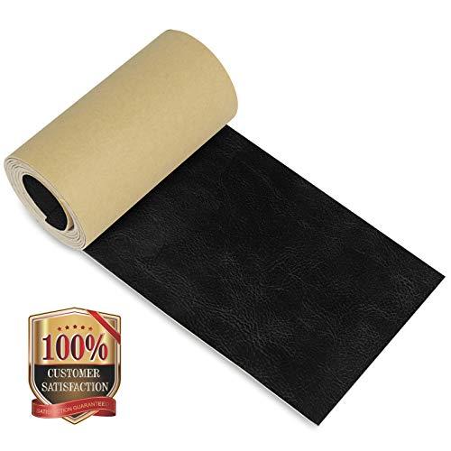 Leder Reparaturflicken 10 x 125cm, Leder-Klebeband Selbstklebendes Lederband für Sofas, Stühle, Autositze, Taschen, Jacken (Crazy Horse)