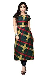 AK Fashion Womens Crepe Kurti (Multicolour) 118