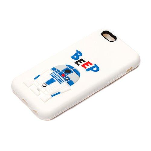 iPhone6s/6ケース/iJacket/STARWARS/シリコンケース/R2-D2/PG-DCS073R2