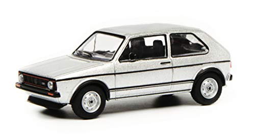Schuco 452018000 452018000 - Maqueta de Volkswagen Golf I GTI (Escala 1:64), Color Blanco