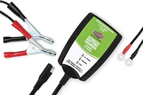 Best Price Interstate Batteries Powersports 12v Battery Charger - 1.0 Amp - Sealed Lead Acid or AGM ...