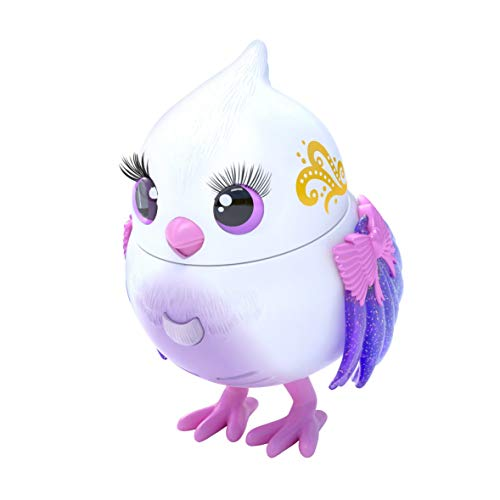 Little Live Pets Lil' Bird – Tweeterina – Paquete Individual de pajarito Cabeza móvil, más de 20 Sonidos de Aves, reacciona al Tacto (Moose Toys 26029)