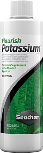Seachem Flourish Potassium Complément pour Plantes d'aquarium – Pack de 25 x 250 ML