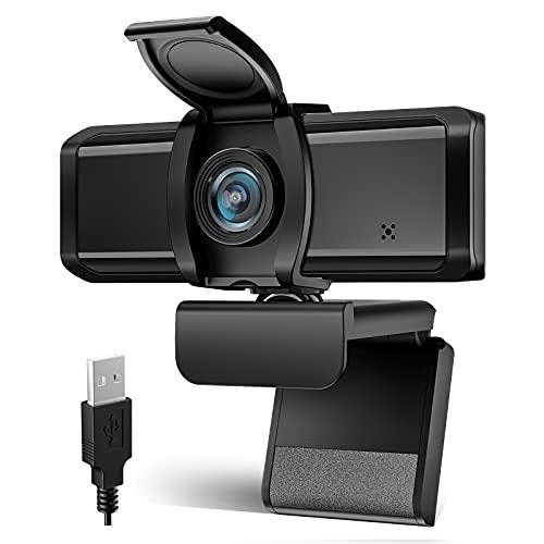 WEBカメラ Wansview ウェブカメラ フルHD 1080P 200万画像 90°広角 パソコンPCカメラ USB2.0 30FPS 内蔵マイク三脚に対応 動画配信 会議 ゲーム実況 授業カメラ ビデオ通話用 Skye,Zoom,Windows XP7810,Mac OS X, Android TVに対応