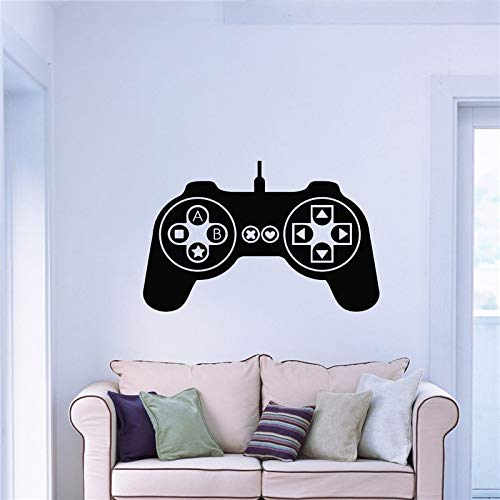zqyjhkou Pegatinas de Pared Vinyl Decal Controller Joysticks Videojuegos Xbox Decal Sticker Decoración para el hogar95x132cm