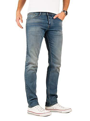Yazubi Herren Jeans Edvin Slim - Jeans Hosen für Männer - Vintage Blaue Denim Stretch Hose Jeanshose Regular, Blau (Sky Captain 2R193922), W29/L34