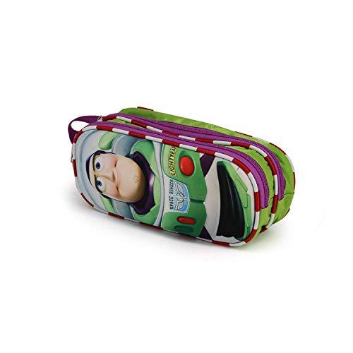 Karactermania Toy Story Buzz-3D Doppelfedermäppchen Estuche