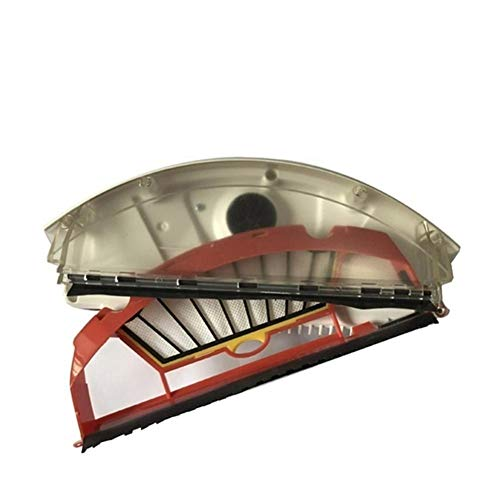 JGSDJWIAS Repuestos para Aspiradoras Ajuste For IRobot Roomba 500/600 Series Aero Vac Polvo Caja Bin Fit Filtro For Aerovac Bin Collecter 510/520/530/535/540/536/531/620/630/650/700/800