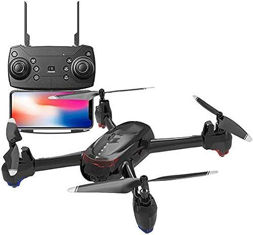 LWRJQC FPV Mini Drohne Headless Modus faltbar mit HD Kamera live ubertragung Lange Flugzeit Pocket Quadcopter ferngesteuert H nhaltung App steuern für Anf er und Kinder