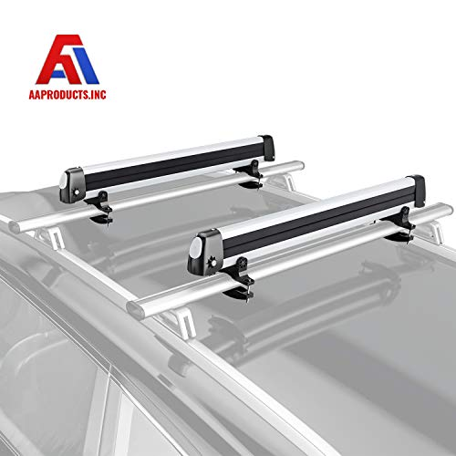 AA Products 33'' Aluminum Universal Ski Roof Rack