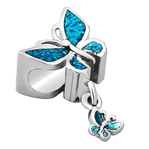 Sug Jasmin Dia De Los Muertos Skull Charm Beads for Bracelet