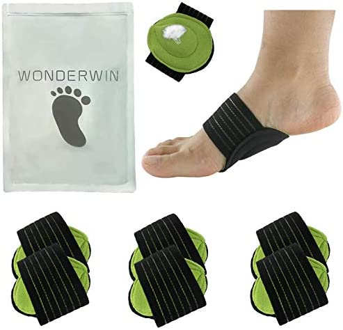 Arch Support 3 Pairs Compression Fasciitis Cushioned Support Sleeves Plantar Fasciitis Foot product image
