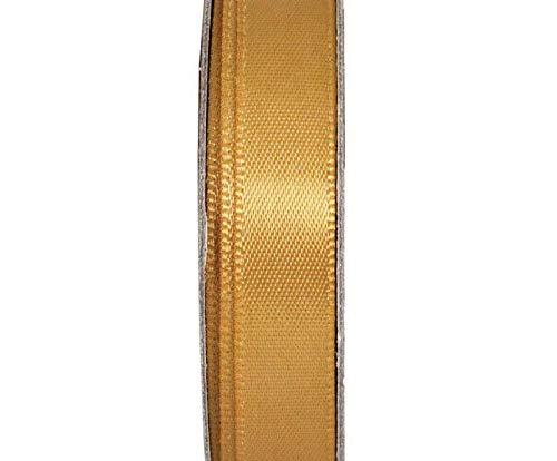 Geschenkband Satin Gold (3m), Braut Spitze, Rand Schneiden, Rand-Spitze, Docrafts, Bänder, Spitzen, Schnur, Dekoration, Verzierungen, Scrapbooking Papier