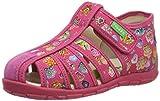 Froddo G1700222 Girls Slipper, Zapatillas de Estar por casa para Niñas, Rosa (Fuxia+ I57), 18 EU
