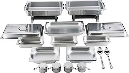 batania 2 Chafing Dish/Speisewärmer 14-teilig