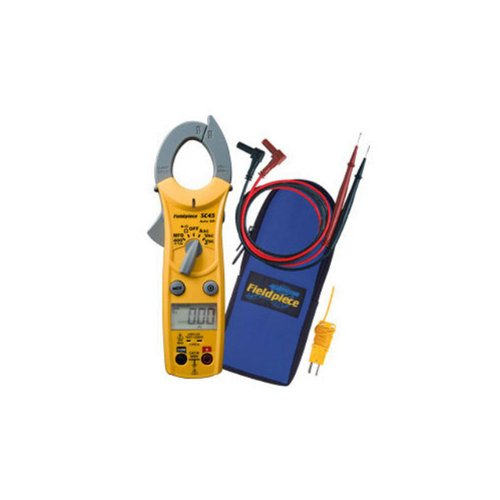 Fieldpiece SC45 Auto-Ranging Mini Clamp Meter with Temperature -