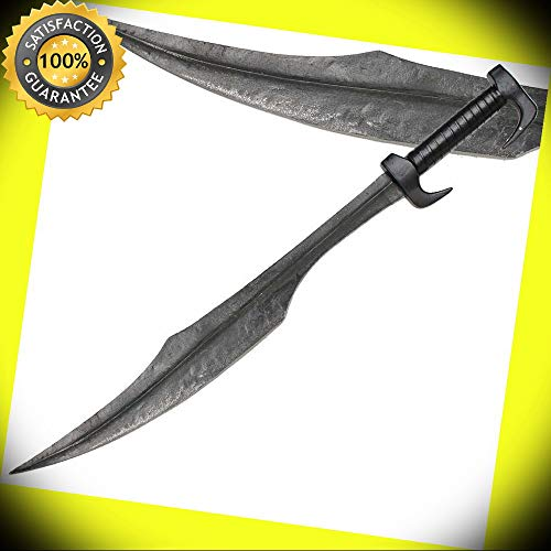 Spartan Forged Warrior 300 Hoplite Battle Sword Movie Replica Collectible perfect for cosplay outdoor camping