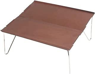 THE BEST DAY Portable Mini Ultra-Light Aluminum Folding Camping Table Desk Picnic BBQ Boat Beach Table 13 8x9 8x4 3