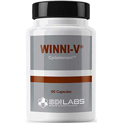 Winni-V Fat Burner for Bodybuilding Increases Stamina, Focus, Cutting Agent for Shredded Muscle (60 Capsules)