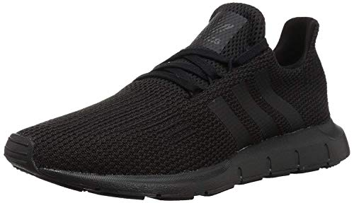 adidas Originals Men's Swift Run Sneaker, Black/Black, 9.5 M US