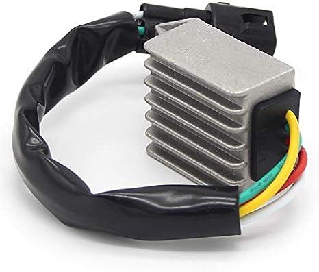QIUXIANG Regulador de Motocicleta Rectificador de Voltaje Ajuste para Husaberg TE 125 250 450S 550S 550E 650E 450E 450SC 450C FS 570 650S 650C 80011034000