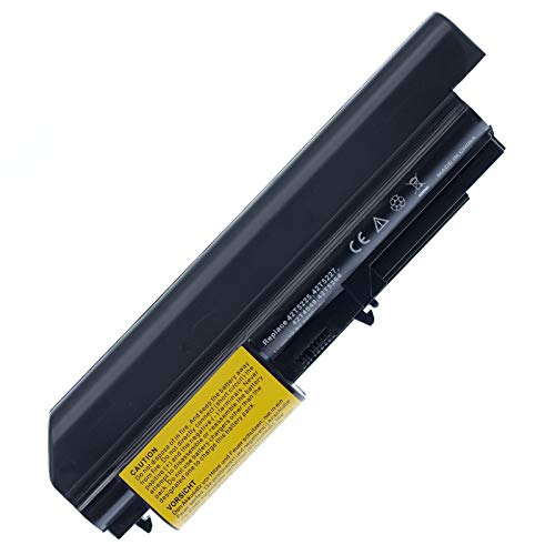 BTMKS Notebook Laptop battery for Lenovo IBM Thinkpad R400 T400 T61 R61 R61i 42T5225 42T522742T5228 42T5262 42T5229 42T4548 42T5264 41U3196 41U3197 41U3198 fits 14.1' Wide Screens Laptop