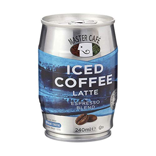 Master Cafe Eiskaffee Latte, 240 ml, 12 Stück