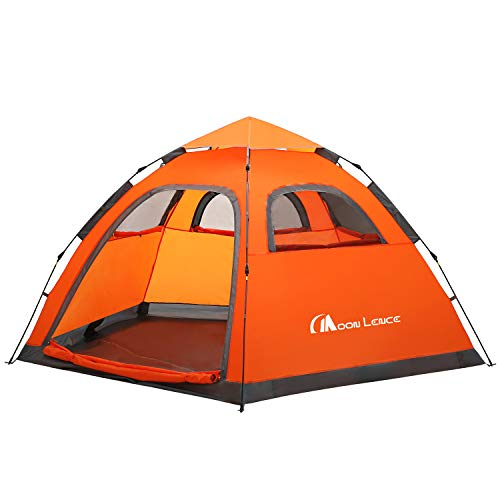 Moon Lence Instant Pop Up Tent Family Camping Tent
