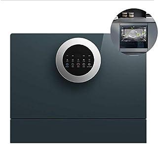 WYZXR Lavavajillas Compacto, Gran Capacidad, Ahorro de energía, Lavado rápido, Platos de Almacenamiento en seco, lavavajillas Incorporado, Adecuado para 6-8 Personas