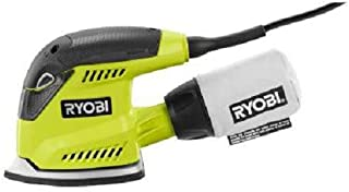 Ryobi ZRCFS1503GK 1.2 Amp Corner Cat Finish Sander (Green) Factory (Renewed)