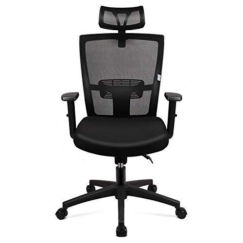 mfavour Ergonomic Office Chair Mesh Chair Heavy Duty Office...