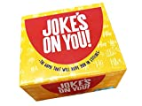 Jokes On You: Funny Party Game - Mad-Lib Word Play - Funny and Hilarious - Creative and Witty Party Game