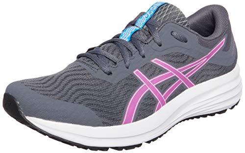 Asics Patriot 12, Zapatos para Correr Mujer, Gris (Carrier Grey/Digital Grape), 37 EU