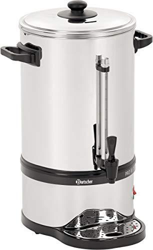 Bartscher A190198 PRO II 100T Rundfilter Kaffeemaschine Edelstahl-schwarz
