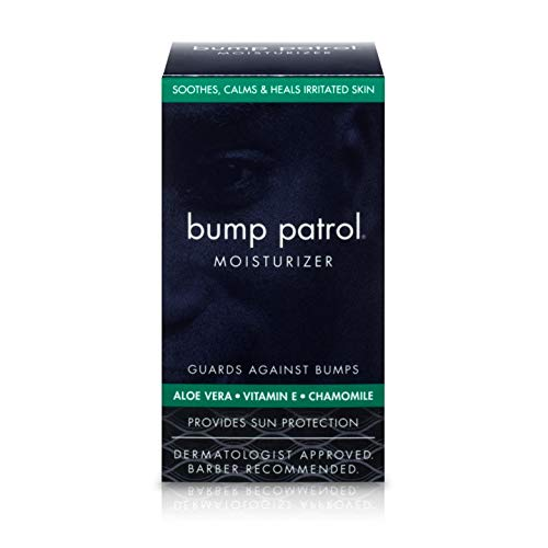 Bump Patrol Everyday Skin Moisturizer - Aloe Vera, Vitamin E, Chamomile Guards Against Razor...