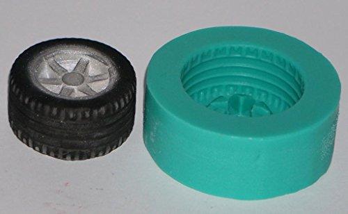 caoutchouc Moules à gâteau en silicone kbksiliconemoulds Sugarcraft Décoration Résine Moules Artisanat givrage grande roue