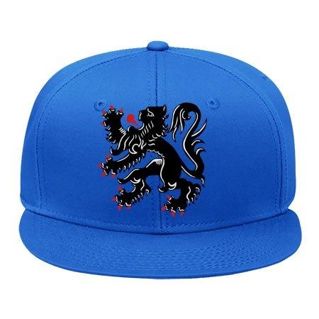 BessieFlores La Flamenca De León–de Vlaamse Leeuw–Flandes algodón Gorra Tapas Ajustable Hatmale/Hembra Classic Hip Hop Sombreros