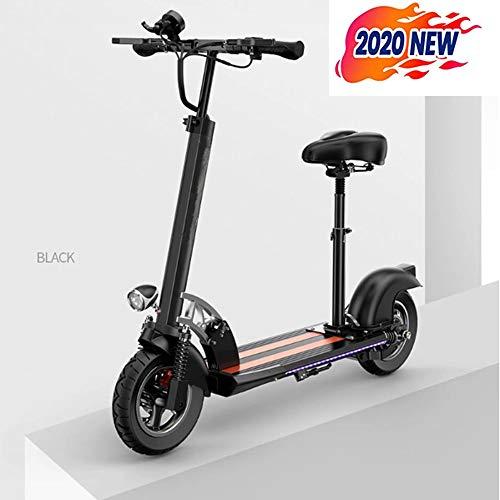 Seat Roller Elektrische scooter voor volwassenen mini elektrische scooter 600 W vouwt super sterke motor black-36V-18.2Ah
