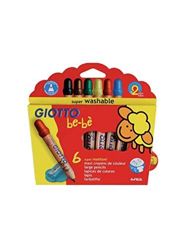 Giotto Bebe 'matitoni de 6