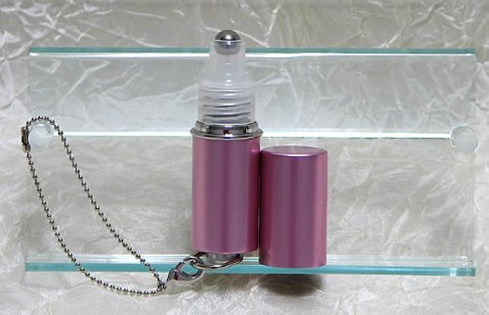 放射能右会計士パフュームローラーストラップ プレインカラー ピンク