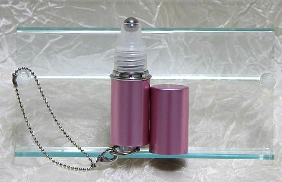 累積パスタバルブパフュームローラーストラップ プレインカラー ピンク