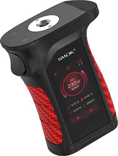 Mag P3 Akkuträger mit max. 230 Watt Ausgangsleistung - von Smok - Farbe: schwarz-rot