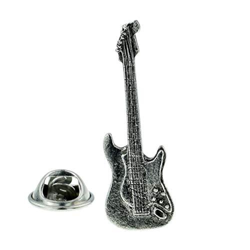 Gemelolandia | Pin de Solapa Guitarra Eléctrica Acero | Pines Originales y...