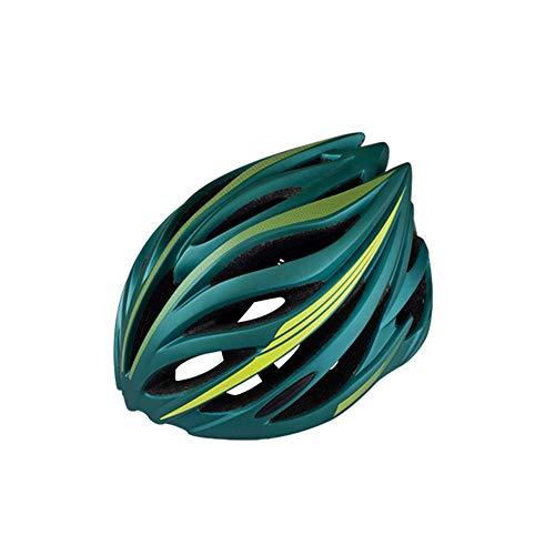 Kaper Go Rennrad Mountainbike Reithelm Integrierte Formung Große Licht Roller Helm Männer Und Frauen Atmungsaktive Helm (Color : Bronze)