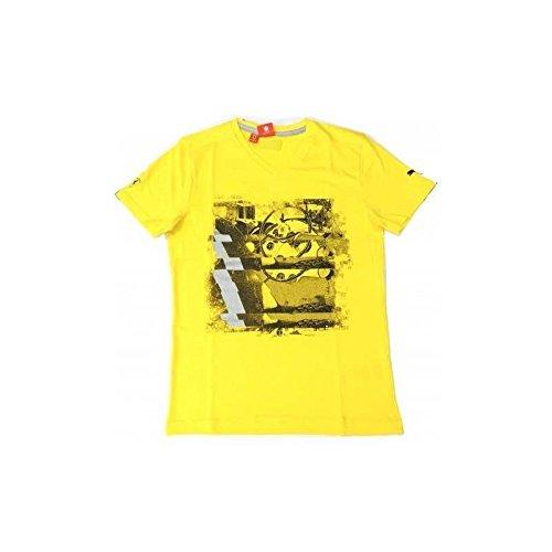 Ferrari T-Shirt pour Homme Graphic Jaune Taille XXL
