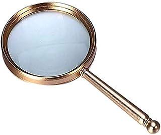 nera e trasparente Mini lente dingrandimento per gioielli pieghevole 5X 45mm Lente di ingrandimento ad alta definizione per occhiali da vista con chiarezza eccellente