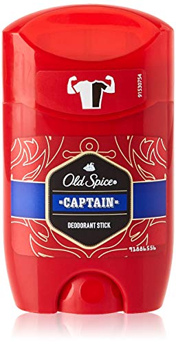 Old Spice Déodorant Stick Captain Pack de 6 x 50 ml (300 ml total)