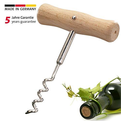 Westmark Korkenzieher, Wendel mit Seele, Holz/Stahl, Woody, Braun/Silber, 10122270