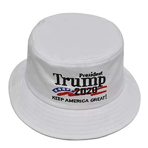 eBoutik Unisex Baseball Cap Gr. Einheitsgröße, Kag - White 2020 Keep America Great Hat