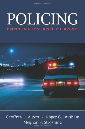 Policing: Continuity and Change